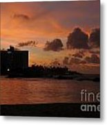 Sunset From Street Level Metal Print