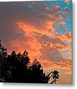 Sunset In Calm Skies Two Metal Print