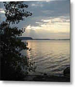 Sunset In Door County Metal Print