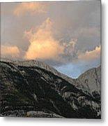 Sunset In Jasper Metal Print