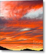 Sunset In Motion Metal Print