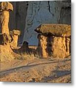 Sunset In Paria Canyon Wilderness Metal Print