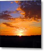 Sunset In Wayne County Metal Print