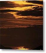Sunset Ipanema  Metal Print