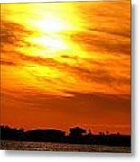 Sunset Ix Metal Print