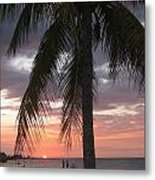 Sunset Montego Bay Metal Print