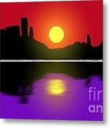 Sunset No. 3 Metal Print