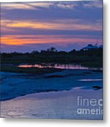 Sunset On Honeymoon Island Metal Print
