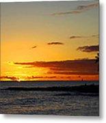 Sunset On Kauai Metal Print