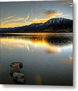Sunset On Little Washoe Metal Print