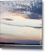 Sunset On Lovewell Metal Print