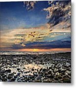 Sunset Over Bound Brook Island Metal Print