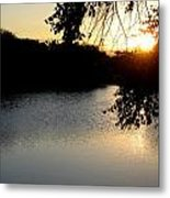 Sunset Over Paradise  Metal Print