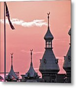 Sunset Over The University Of Tampa Metal Print