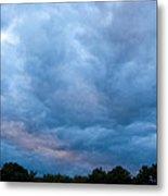 Sunset Painted Sky Metal Print