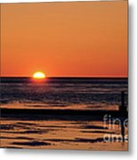 Sunset Park Petoskey Mi Metal Print