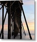 Sunset Pier California 3 Metal Print