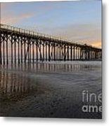Sunset Pier  California 5 Metal Print