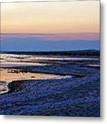 Sunset Salton Sea North Metal Print