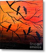 Sunset Secrets Metal Print