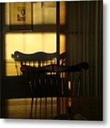 Sunset Shadows Metal Print by Mark Haley