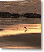 Sunset Shimmer Beach Metal Print