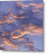 Sunset Sky Over Nipomo, California Metal Print