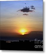 Sunset Upon The Ocean Number Two Metal Print