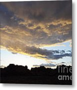 Sunset Valley Of Fire Metal Print