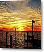 Sunset Xv Metal Print