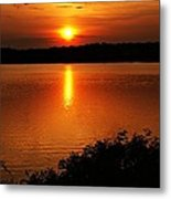 Sunset Xvi Metal Print