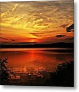 Sunset Xxv Metal Print