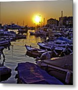 Sunsetting Over Rovinj 2 Metal Print