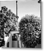 Suntan Lane Palm Springs Metal Print