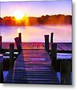 Sunup Over Rock Creek Metal Print