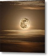 Super Moon Of 2012 Metal Print