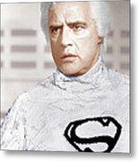Superman, Marlon Brando, 1978 Metal Print