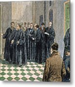 Supreme Court, 1881 Metal Print by Granger