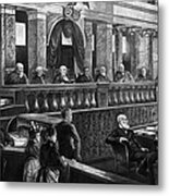 Supreme Court, 1888 Metal Print