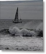 Surf And Sail Metal Print