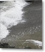 Surf And Sand Metal Print