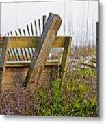 Surf City Chair Metal Print