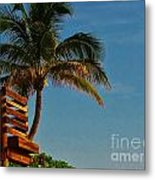 Surf Lookout Metal Print