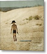 Surfs Out For Summer Metal Print