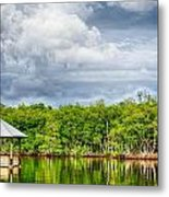 Surrounded By Water Metal Print