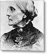 Susan B. Anthony, American Civil Rights Metal Print