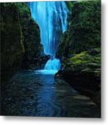 Susan Creek Falls Metal Print