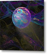 Suspension Metal Print