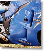 Suzuki Hayabusa Metal Print