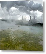 Svartsengi Geothermal Power Plant Metal Print
